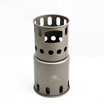 TOAKS Titanium Backpacking Wood Burning Stove by TOAKS