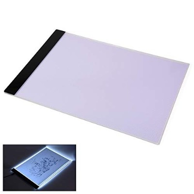 JOJOO A4 Tracing Light Board Lightweight LED Artcraft Tracing Pad for Artists, Drawing, Sketching,...