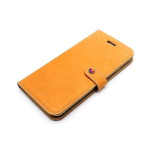 Lim`s LEATHER SLIM FIT EDITION iPhone 6s/6/7/8用○LEIP6SDNB Light brown パソコン・モバイル雑貨