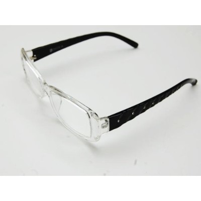老眼鏡 【WA036CBK】READING GLASSES CLEAR/BK 1.0