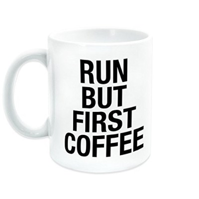 Run But First Coffee | Runningセラミックマグby Gone For A Run