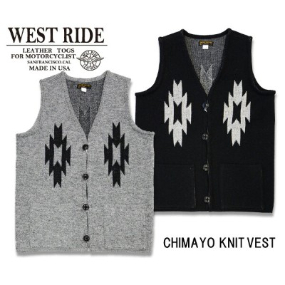 【WEST RIDE/ウエストライド】ベスト/CHIMAYO KNIT VEST★REAL DEAL