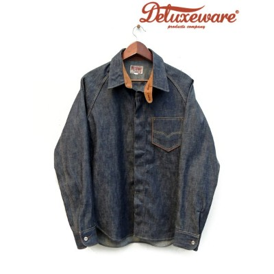 DELUXE WARE(デラックスウェア) 40s DENIM SHIRT / Lot.7640 / Made.In.Japan