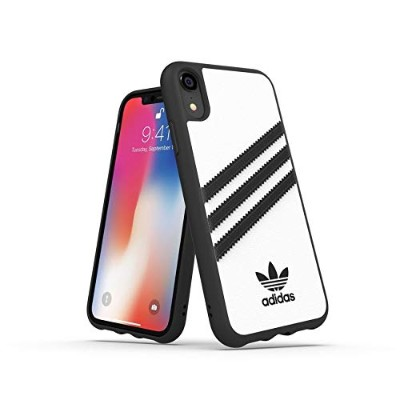 Adidas 32808 OR SAMBA Moulded Case PU FW18 white/black 〔iPhone XR用〕