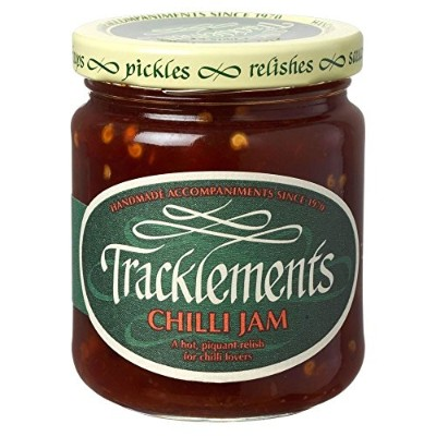 Tracklements Chilli Jam (250g) Tracklements唐辛子ジャム( 250グラム)