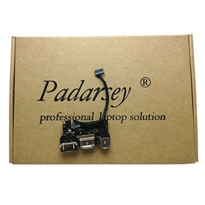"Padarsey Replacment New DC-IN Jack I/O Board fit for Apple MacBook Air 13"" A1466 MD760 820-3455-A ..."