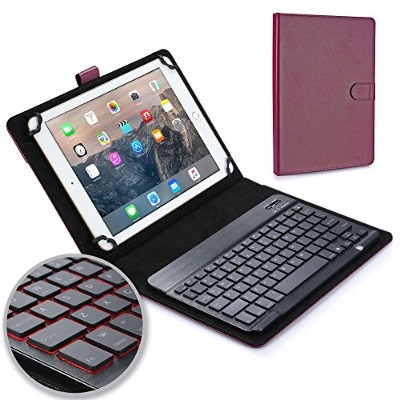 Cooper Cases BACKLIGHT EXECUTIVE Bluetooth キーボード ケース 【 9-10.5 インチ 汎用 】 バックライト 7色 ワイヤレス タブレット カバー...