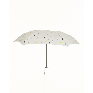 BE-SUNNY 4段折りたたみ傘 晴雨兼用○87277 Colorful drop_ow 雨具・日除けグッズ