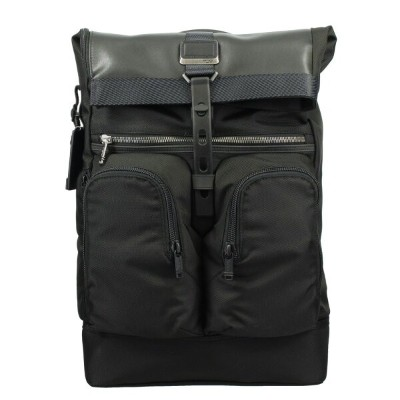 TUMI トゥミ バックパック LONDON ROLL TOP BACKPACK 232388D BLACK