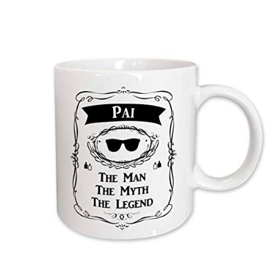 InspirationzStore The Man The Myth The Legend–Pai The Man The Myth The Legend Word for Dad父でポルトガル語...