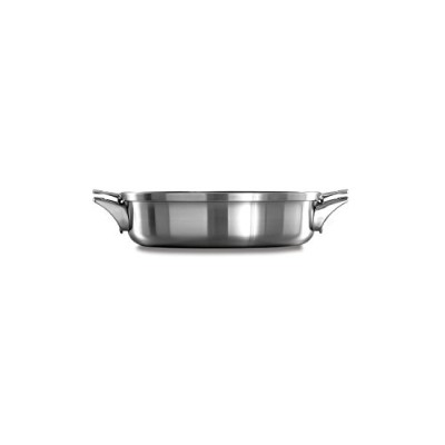(5qt Sauteuse with Cover) - Calphalon Premier Space Saving Stainless Steel 4.7l Sauteuse with Cover