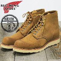 """RED WING Classic Work 6"""" Round 08181【Width:D】 レッドウイング クラシックワークブーツ ds-Y"""