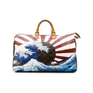 LOUIS VUITTON PRE-OWNED プリント ボストンバッグ - ブラウン