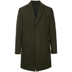 United Arrows single breasted coat - グリーン