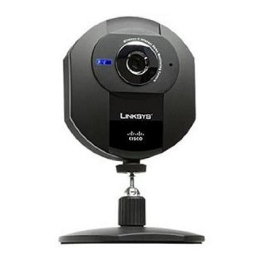 Cisco-Linksys WVC54GCA Webcam 640x480 802.11G Wireless Internet Home Monitoring Camera [並行輸入品]