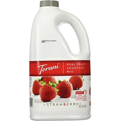 Torani Strawberry Real Fruit Smoothie Mix, 64 oz by Unknown