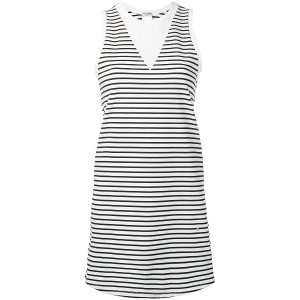 Chanel Vintage striped long top - ホワイト