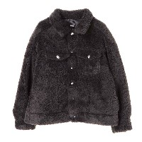 【SALE 24%OFF】グリーンパークス Green Parks ボアGジャン (Black)