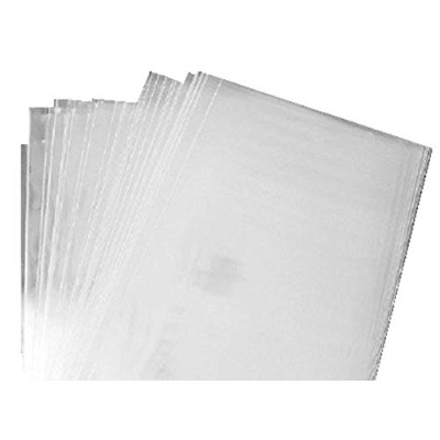 200 / Clear Flat Cello/cellophane Treat Bags 5 X 10 (1.2mil) Gift Packaging by B&P LLC