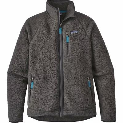 パタゴニア Patagonia フリース Retro Pile Fleece Jacket Forge Grey