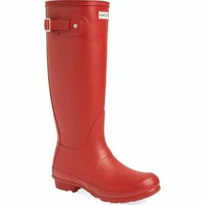 ハンター HUNTER レインシューズ・長靴 Original Tall Rain Boot Military Red