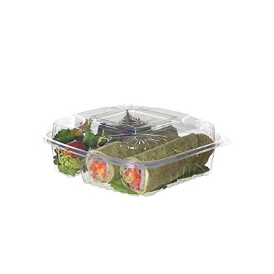 Eco Products EPLC83 8 in. Containers 3 Compartment - 160 per Case