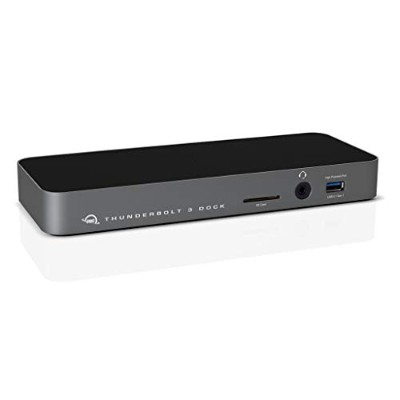 12-Port Thunderbolt 3 Dock with Cable - Space Gray