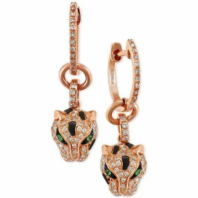 エフィー EFFY Collection イヤリング・ピアス Signature by EFFY Diamond (3/8 ct. t.w.) and Tsavorite Accent...