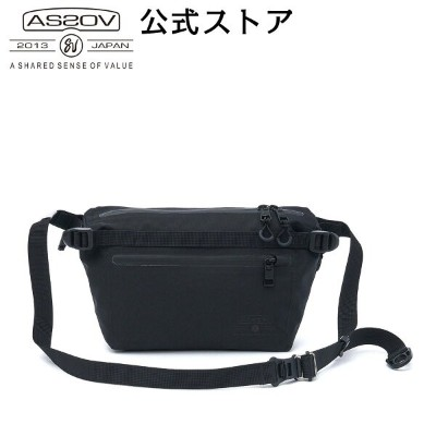 【AS2OV公式通販】 AS2OV (アッソブ) WATER PROOF CORDURA 305D FANNY PACK 141607