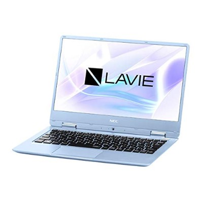 NEC モバイルノートPC LAVIE Note Mobile PC-NM160KAL-2 メタリックブルー [Win10 Home・Celeron・12.5インチ・Office付き・SSD...