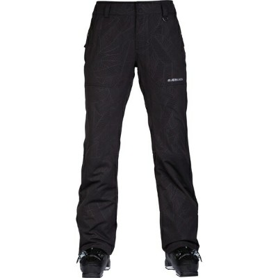 アルマダ レディース スキー スポーツ Lenox Insulated Snow Pants - Women's Black Banana Leaf