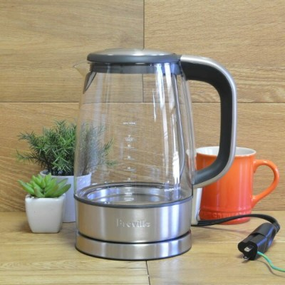 ブレビル 電気ケトルBreville USA BKE595XL The Crystal Clear Electric Kettle 家電