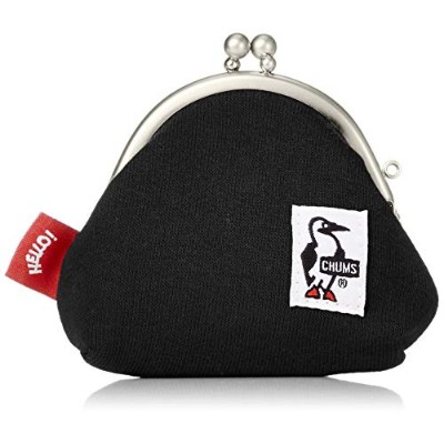 [チャムス]CHUMS Frog Coin Purse Sweat Black