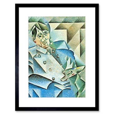 Juan Gris Homage To Pablo Picasso Old Master Framed Wall Art Print オールドマスター壁