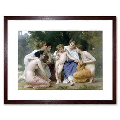 William Adolphe Bouguereau Admiration Old Master Framed Wall Art Print オールドマスター壁
