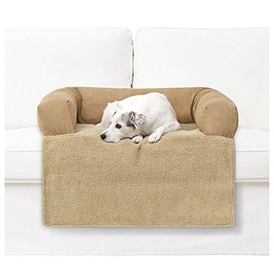 PawTex Premium Couch Cover Dog Bed, 30 inch, Small, Tan by PawTex