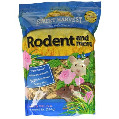 Kaylor Made Sweet Harvest Vitamin Enriched Rodent Timothy Hay Pet Bird Food 2lbs