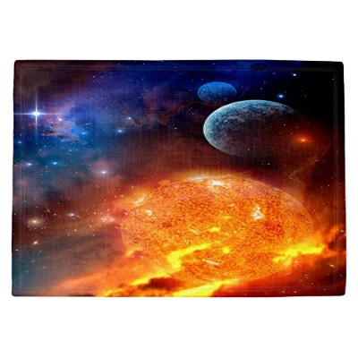 DIANOCHEキッチンPlaceマットby Philip Straub – Creation Stars Sun Moon Set of 2 Placemats PM-PhilipStraubCre...