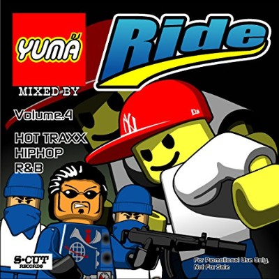 【DJ YUMA】RIDE Volume.4/HIP HOP R&B/MIX CD