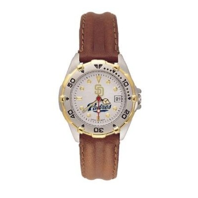 San Diego Padres MLB All Star Watch withレザーBand – Women 's