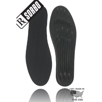 Rx Sorbo Sorbothane Classic Insole (Female - 9 - 10 / Male - 6.5-7.5) by RxSorbo / Sorbothane