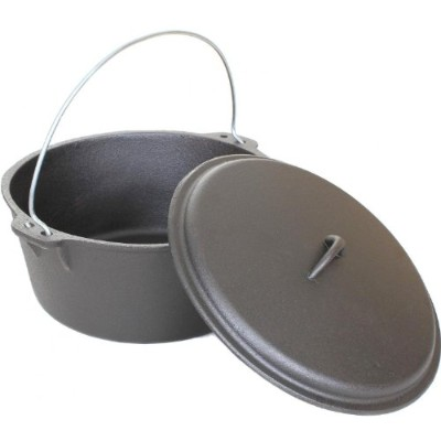Cajun調理器具Dutch Ovens 9 Quart鋳鉄Dutch Oven