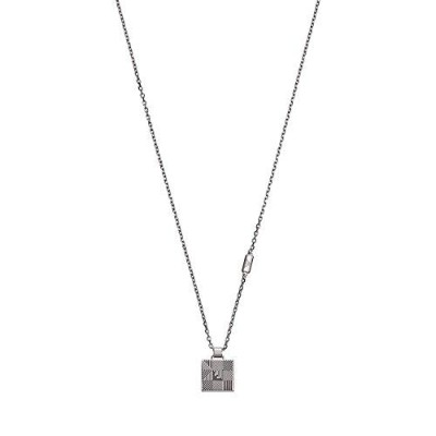 [男性用ネックレス]Emporio Armani Men Stainless Steel Chain Necklace - EGS2507040[平行輸入品]