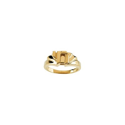 Beautiful Yellow gold 10K Yellow-gold Chai Ring comes with a Free Jewelry Gift