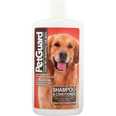 Pet Guard Shampoo and Conditioner for Dogs, 12-Ounce Bottles by Pet Guard