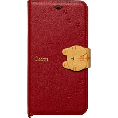 iPhoneXS/X専用手帳型ケース Cocotte Red iP18_58-COT04