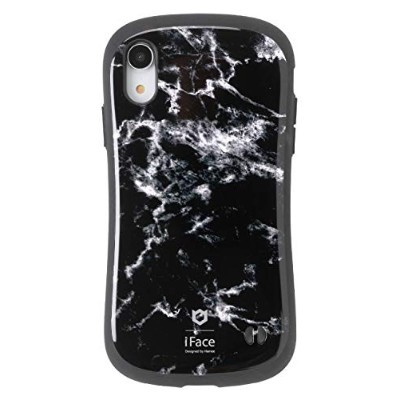 iFace First Class Marble iPhone XR ケース [ブラック]