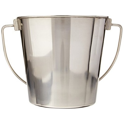 Advance Pet Products Heavy Stainless Steel Round Bucket, 2-Quart by Advance Pet Products