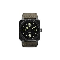 Bell & Ross BR 03-92 ナイトラム 42mm - Black And Green