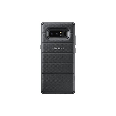 ギャラクシーノート8 純正 Samsung Galaxy Note 8 Rugged Military Grade Protective Cover with Kickstand (Black)